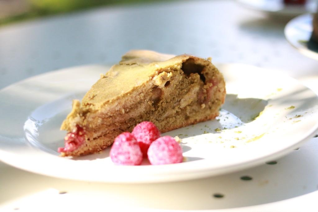 cake zébré vegan
